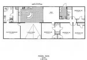 5 Bedroom Modular Home Floor Plans 5 Bedroom Floor Plan C 3205 Hawks Homes Manufactured