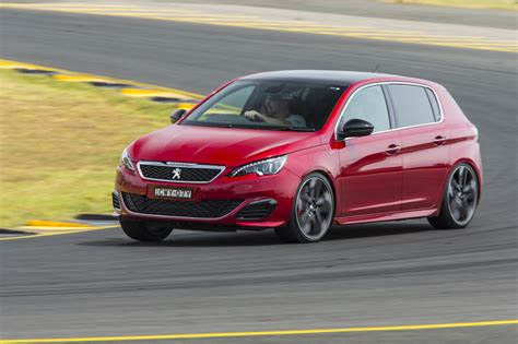 peugeot 308 gti 2016 review 2016 peugeot 308 gti review track drive