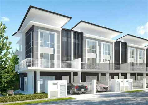One Bedroom Apartment Designs Modern Amp Luxury Freehold 3 Storey Terrace House At Seri