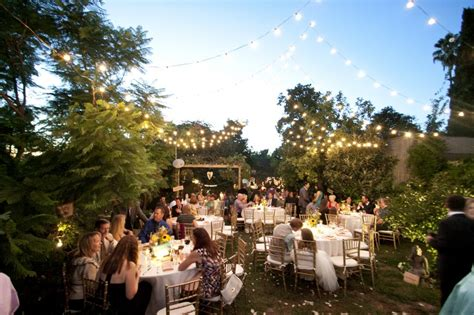 how to plan a backyard wedding how to plan the perfect outdoor wedding everafterguide
