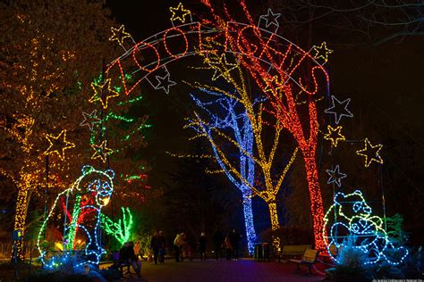 dc zoo lights zoolights 2012 brightens up the holidays photos huffpost