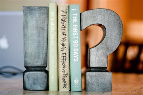 book end 8 creative and easy diy bookends
