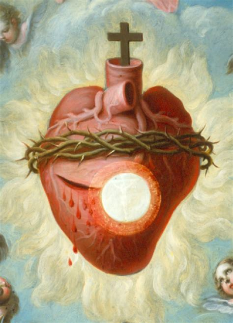 sacred heart on