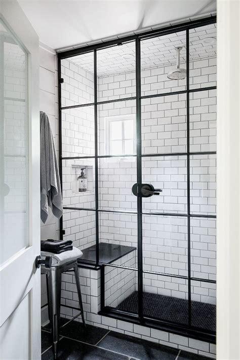 Steel Shower Doors Beautiful Bathrooms Modern Details For Your Remodeling Wishlist Shower Doors Glass Panels