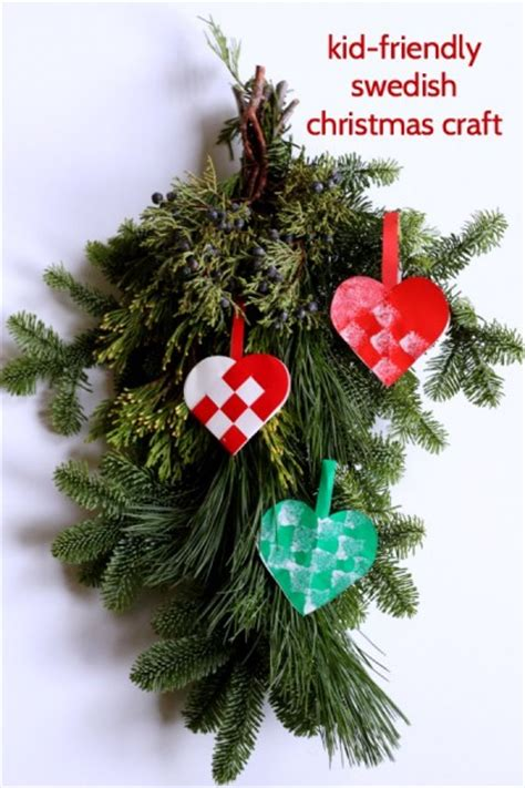 sweden christmas kids crafts easy swedish craft for