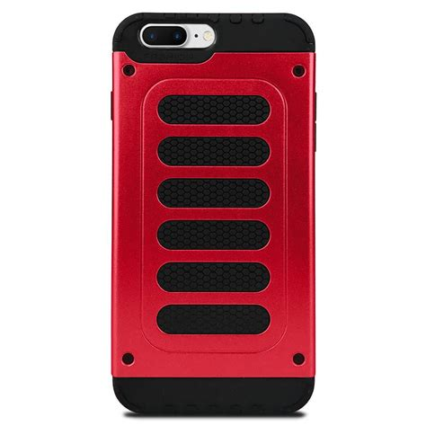 rugged design sleek design rugged silicone grip case for iphone 7 8 plus