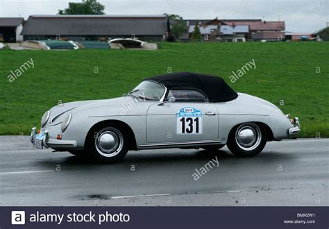 Old Porsche by Old Convertible Porsche Classic Car Stock Photo Royalty
