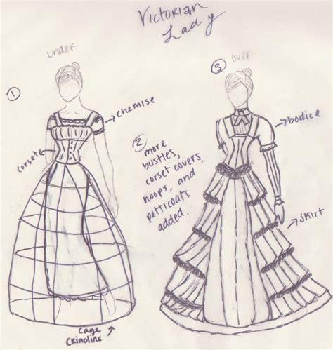 design victorian dress victorian dress and crinoline by ellen1193 on deviantart
