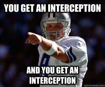 Tony Romo Interception Meme - sure to be wrong nfl picks week 2 the nerds uncanny