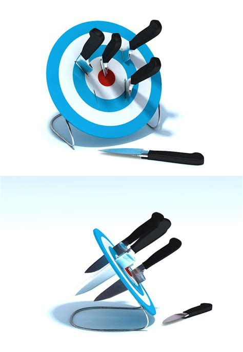 cool knife block funoogle 10 cool and unusual knife holders