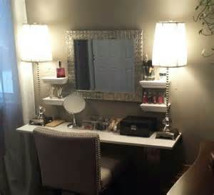 Makeup Vanity On Diy Makeup Vanity Updated My Projects