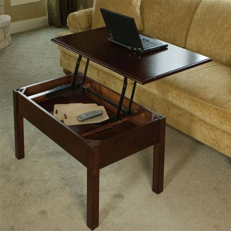 coffee table turns to dining table