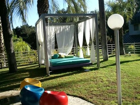 swing designer custom furniture design of outdoor bed swing by h studio