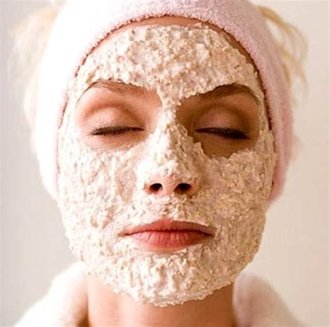 Masker Oatmeal 22 fruit packs and scrubs to get rid of