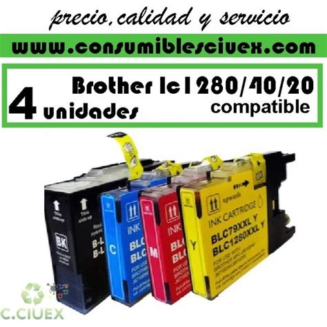 Tinta Lc 535x Colour Magenta tinta compatible lc1280 lc1240 lc1220 pack ahorro