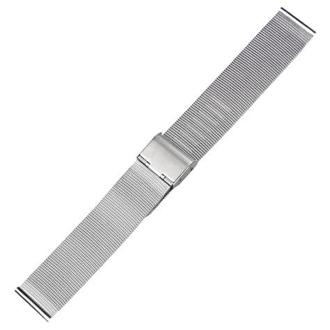 Jam Gc Stainless Steel jam tangan milanese stainless steel 18mm silver jakartanotebook