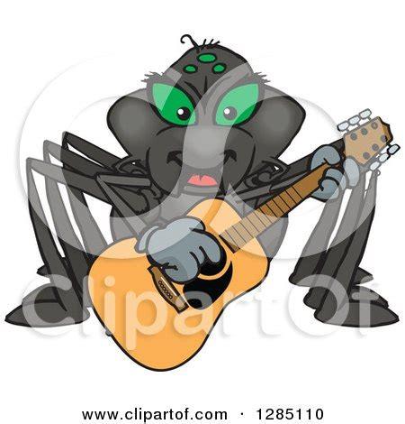 happy black widow spider cartoon royalty free rf spider clipart illustrations vector