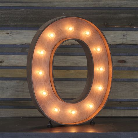 Home Decor Furniture Online by Edison Marquee Letter Quot O Quot Town Amp Country Event Rentals