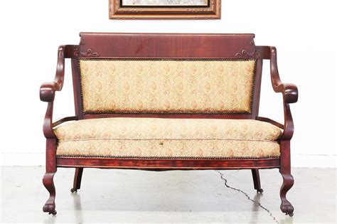antique empire sofa empire style sofa imperial lion sofa with and wings in