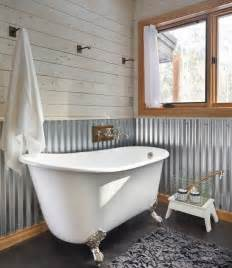 Modern Bathroom Ideas On A Budget corrugated metal in interior design creative ideas for