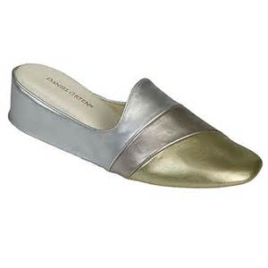 daniel green juniors womens metallic mule bedroom slippers daniel green denise slipper women s bedroom slipper
