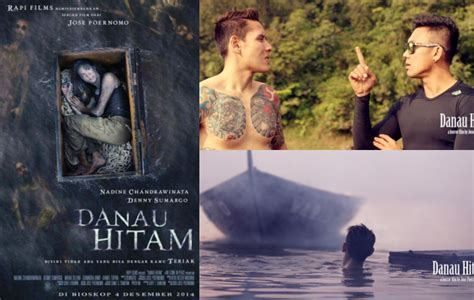 film horor nadine chandrawinata seramnya nadine chandrawinata terapung di poster film