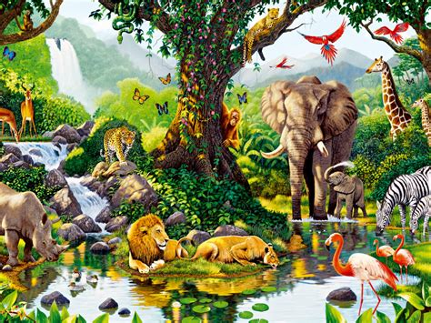 jungle animals  wallpapers jungle animals