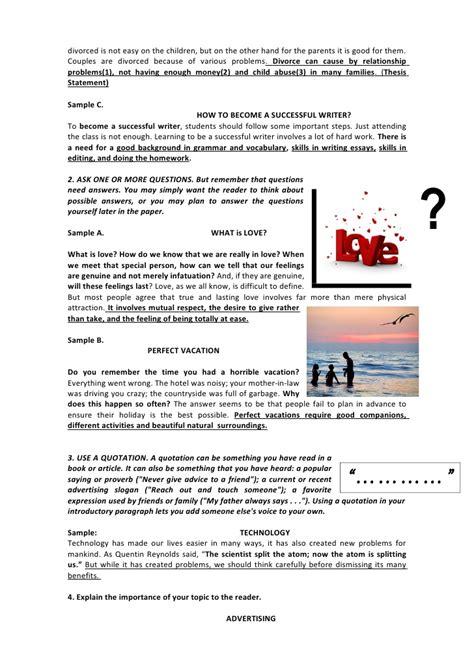 Divorce Essays by Divorce Essay