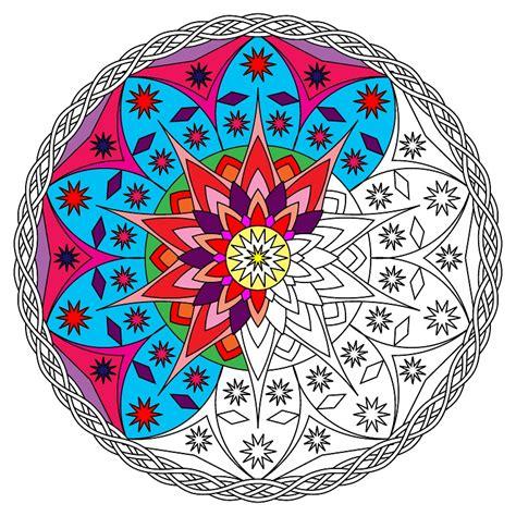 imagenes de mandalas de la salud mandalas para ni 241 os los beneficios de dibujar y colorear
