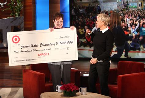 Ellen Degeneres Show Giveaways - ellen donates to james sales elementary south sound magazine