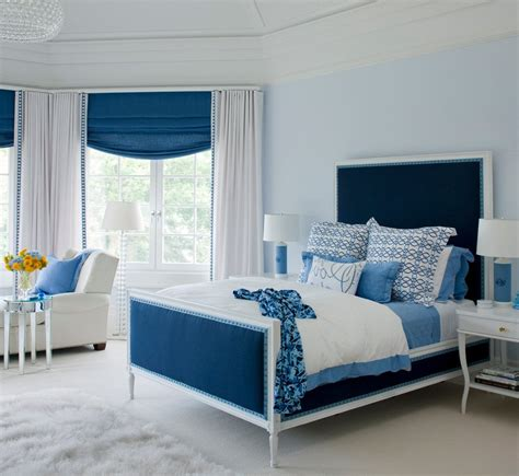 navy blue and white bedroom your bedroom air conditioning can make or break your decor