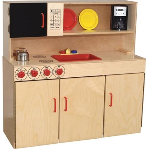 wood designs play kitchen wood designs 5 n 1 play kitchen set wd10800 wooden