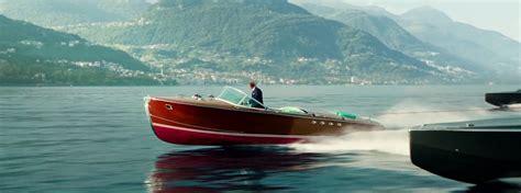 wooden boat james bond heineken goes woody boating with james bond on lake como