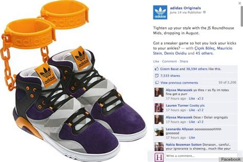 Adidas 'Shackle' Sneakers Cause Controversy Over Slavery Symbolism (PHOTO, POLL)   HuffPost