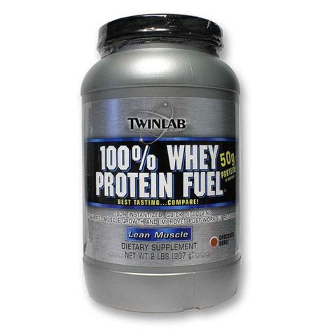Whey Protein Twinlab Twinlab 100 Whey Protein Fuel Chocolate 2 Lbs