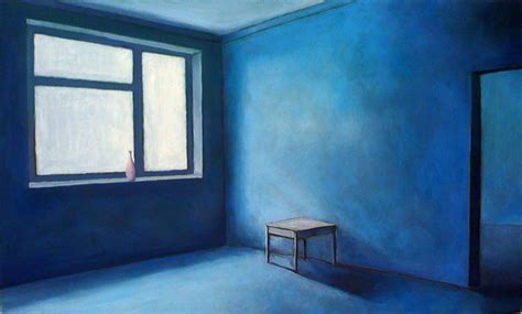 the blue room painting brad wright