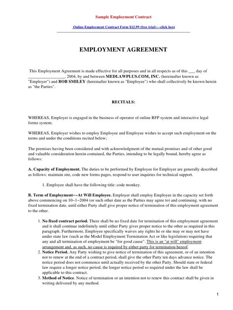 template simple collaboration agreement template