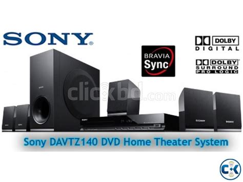 Sony Dvd Home Theater Dav Tz140 sony dav tz140 5 1ch 300w 1080p dvd home theater clickbd