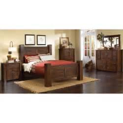 king bedroom sets image: trestlewood  piece cal king bedroom set