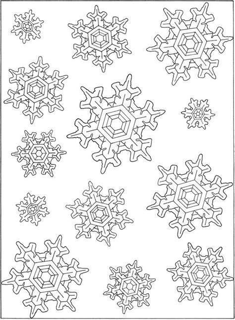the 25 best snowflake coloring pages ideas on pinterest