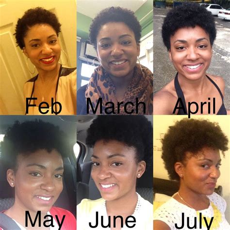 one year 4c hair 4 c big chop google search hair pinterest beauty