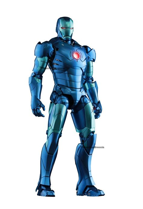 Ironman 3 Stealth Toys Exclusive Iron Iii iron iii stealth mode ver 1 6 figure 12