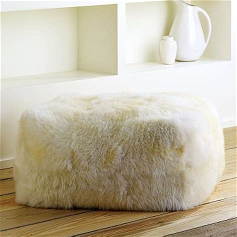 west elm sheepskin rug trend alert how you can use those sheepskin rugs you see everywhere empty nest remodelers