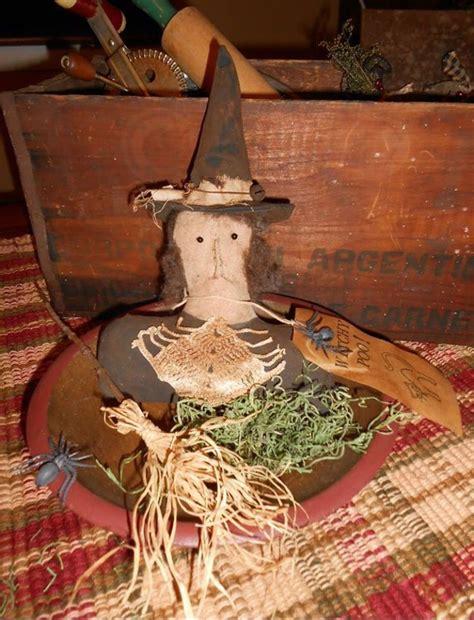 Handmade Fillers - handmade primitive bowl filler witch made by jolls
