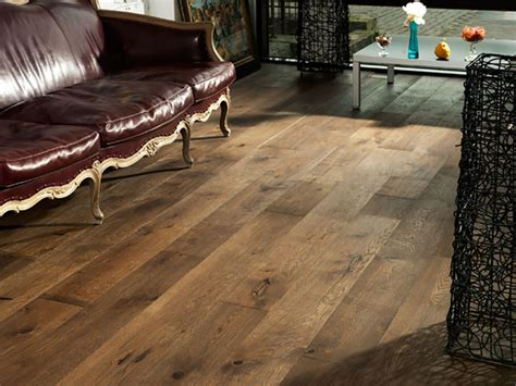 oak venice wide plank flooring rustic living room