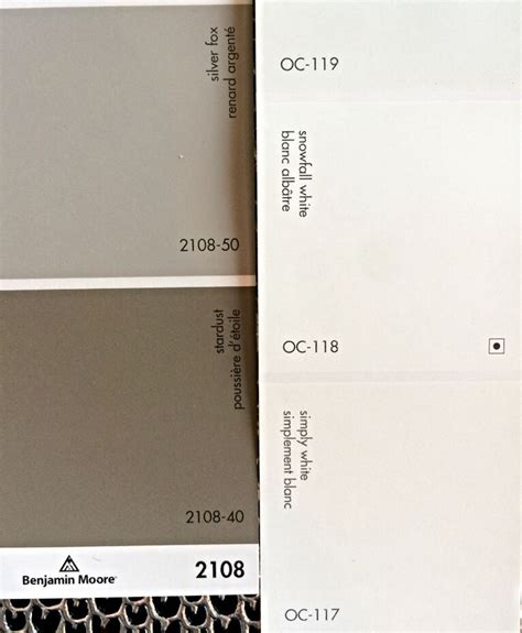 2108 50 silver fox paint colour benjamin moore love my home interior monochromatic colour scheme warm