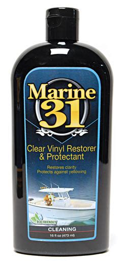 boat seat cleaner and protectant marine 31 clear vinyl restorer protectant