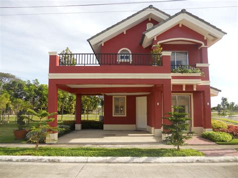 camella house designs althea or ruby model house of savannah glades iloilo by camella homes erecre group