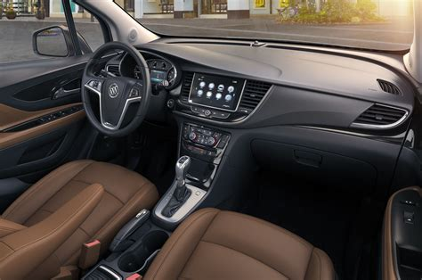 Buick Interior by 2017 Buick Encore Refreshed At New York Auto Show