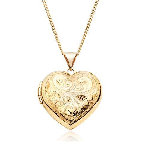 9ct gold locket pendant 0000738 beaverbrooks the